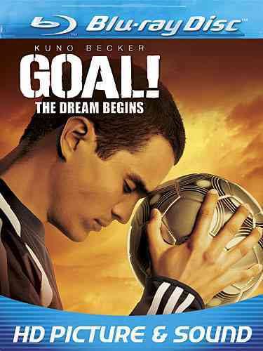 GOAL THE DREAM BY BECKER,KUNO (Blu-Ray)